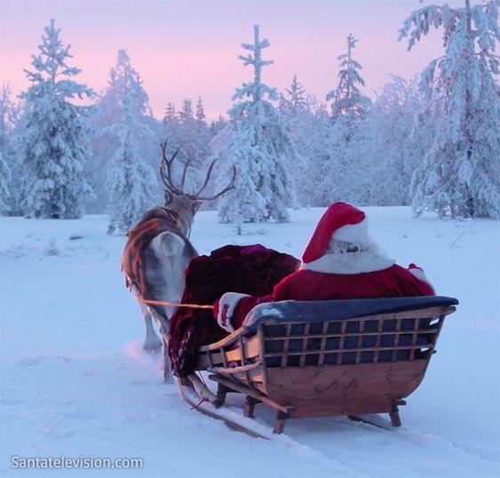 Laponia en  lugar en el que se puede visitar a Papa Noel